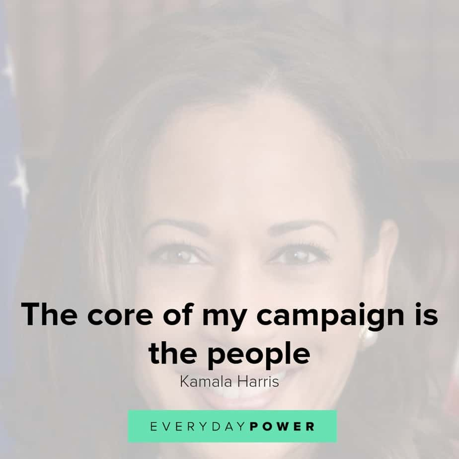 Kamala Harris Quotes on Running for President in 2020