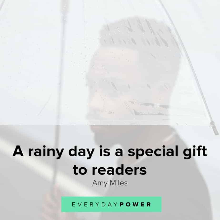 Rainy day quotes to lift your spirits