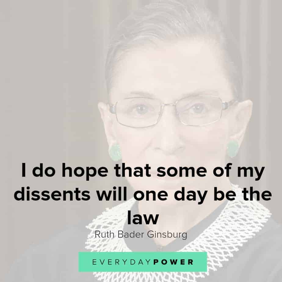 Ruth Bader Ginsburg quotes to inspire you to stand for what's right