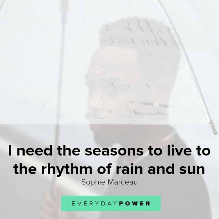 inspirational rainy day quotes