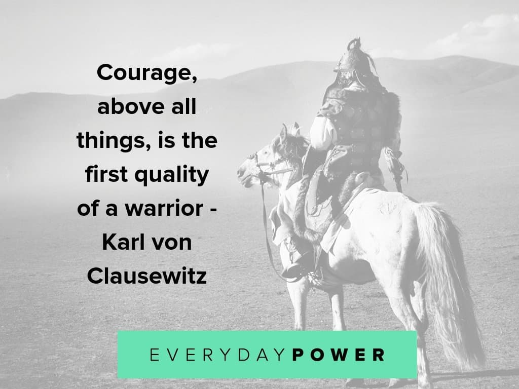 warrior quotes to make you braver