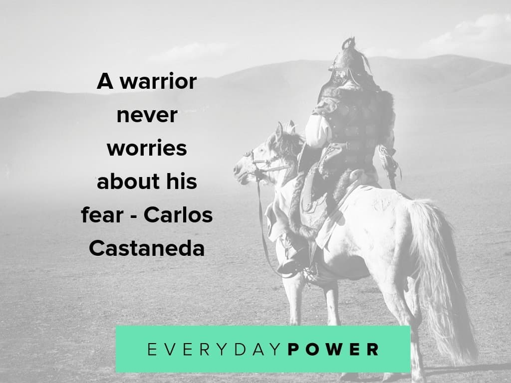 Warrior quotes on having an unbeatable mind