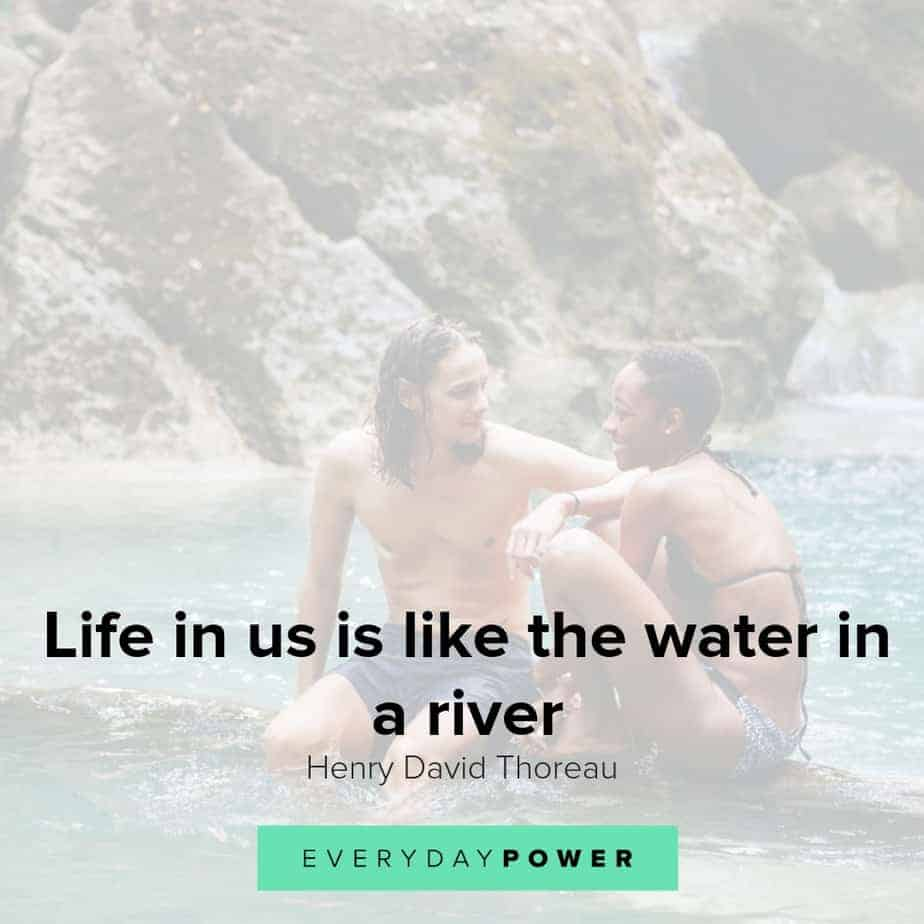 Water quotes to help you move forward
