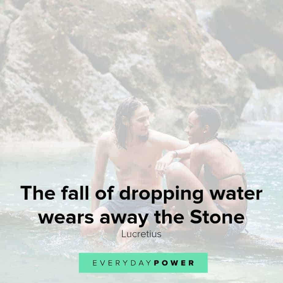 Water quotes honoring the flow of life