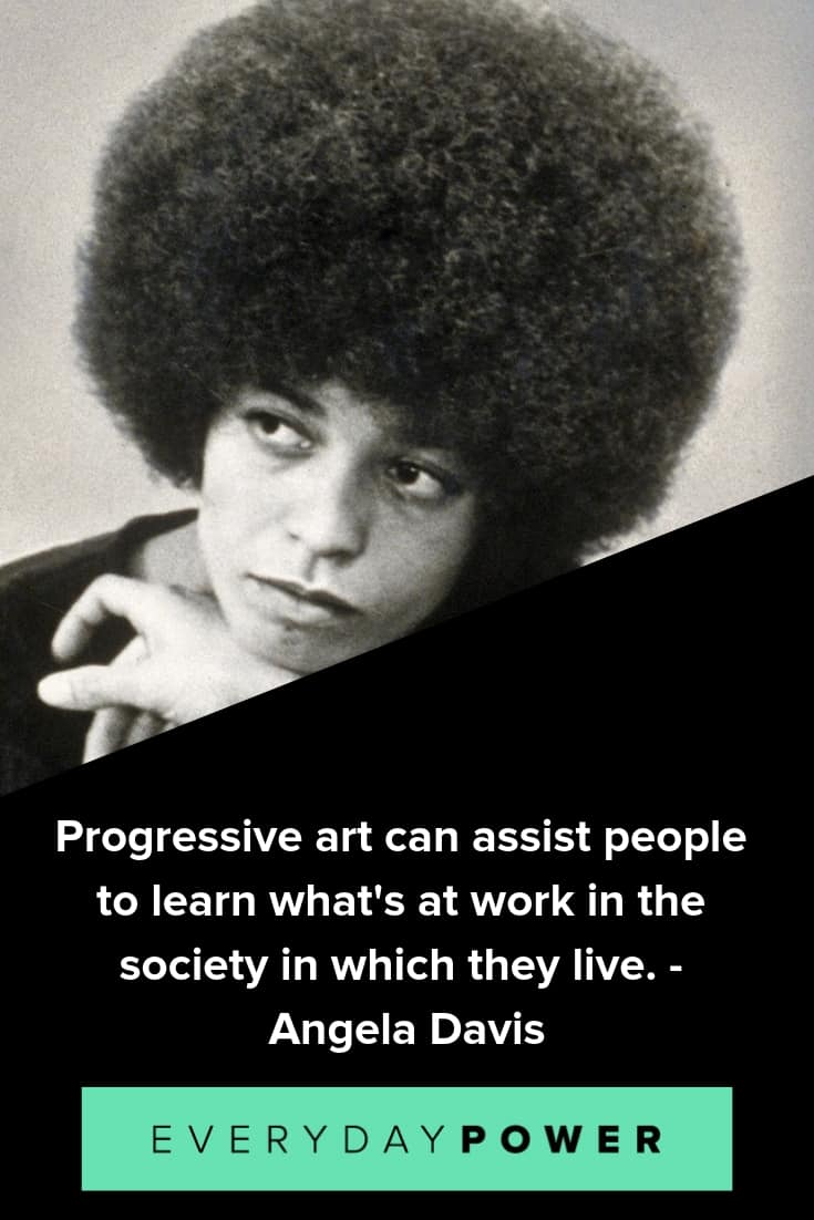 Angela Davis quotes that will inspire you to keep up the fight