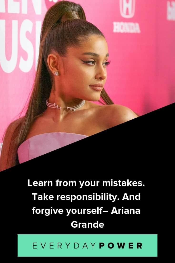 Ariana Grande quotes that spread positivity