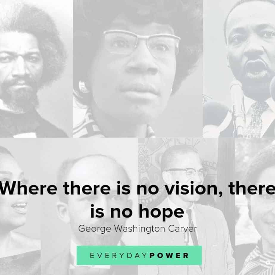 Black History Month quotes from prominent African American personalities