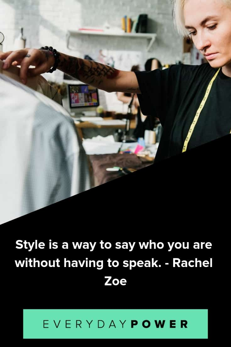 Fashion quotes that will never go out of style