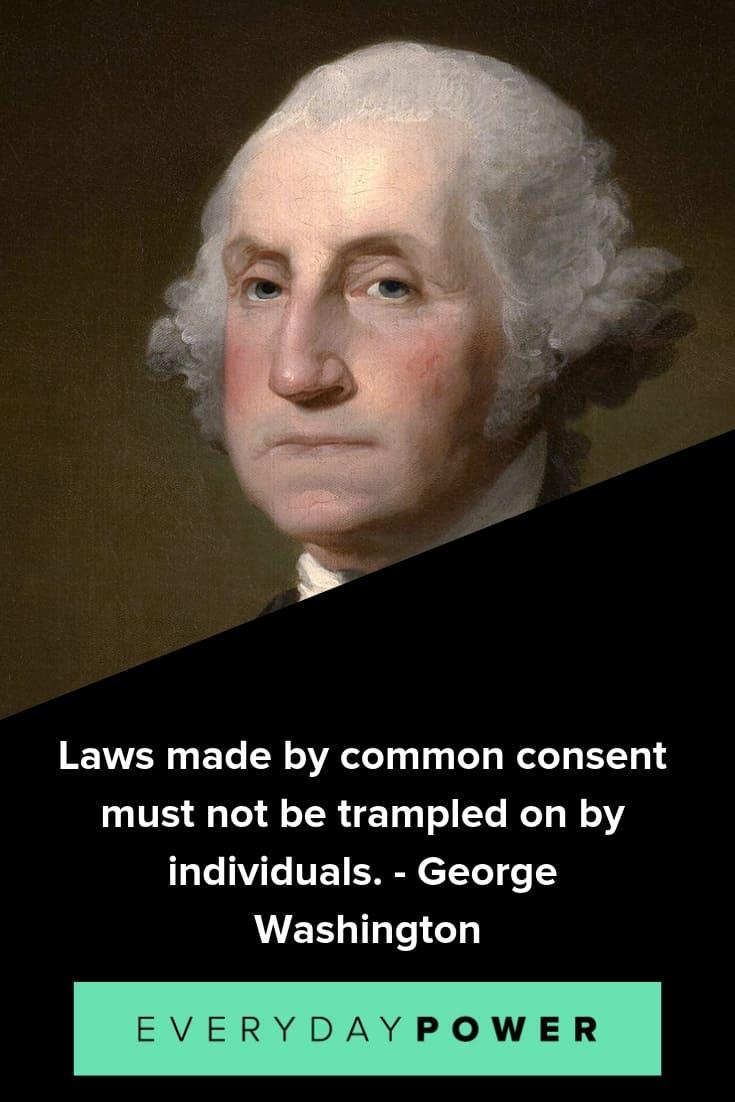 George Washington quotes to celebrate his accomplishments