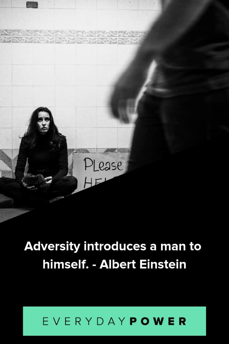 adversity quotes on overcoming hardship