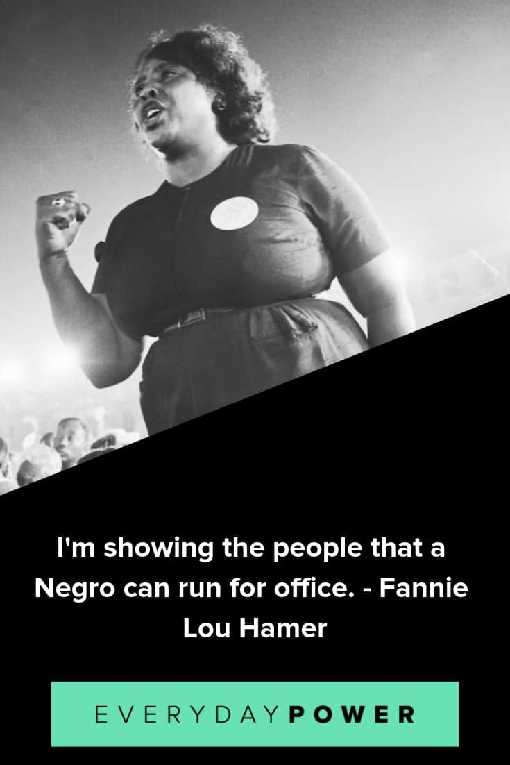 20 Fannie Lou Hamer Quotes Expressing The Power Of Voice 2019