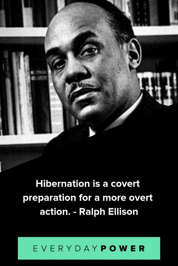 thought-provoking ralph ellison quotes