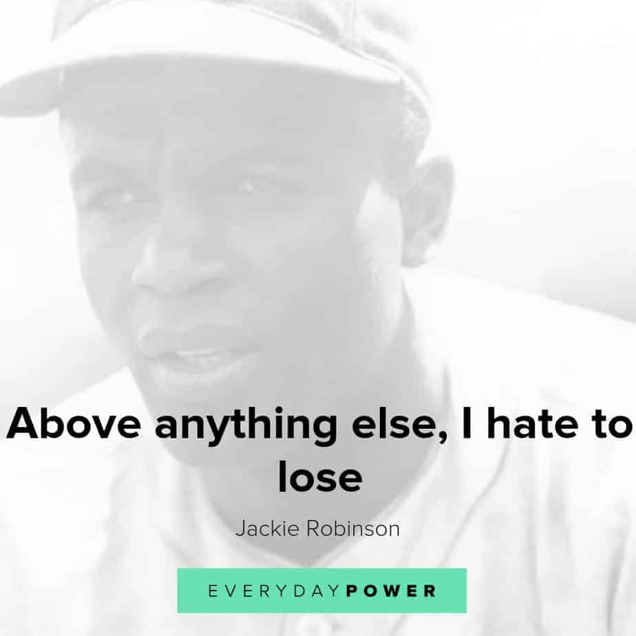 Jackie Robinson quotes on life, success and equality