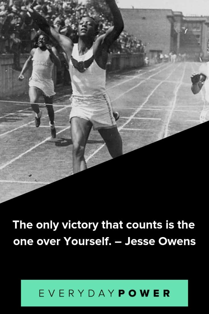 Jesse Owens quotes on success and greatness