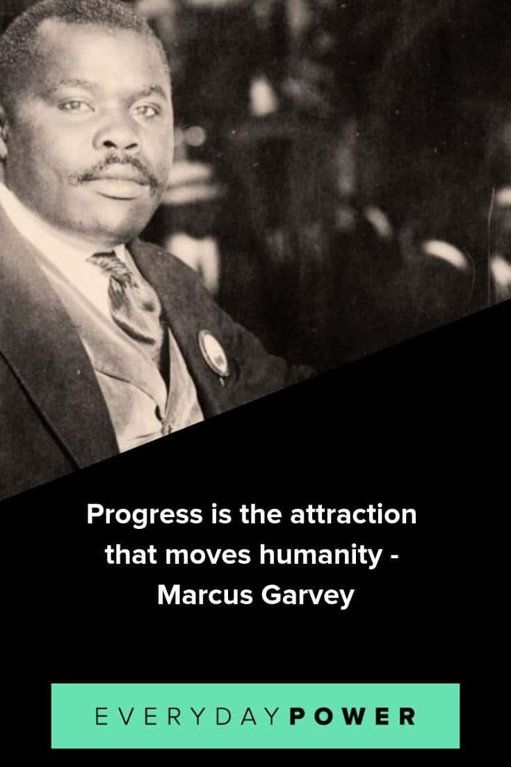 Marcus garvey quotes celebrating knowledge of self