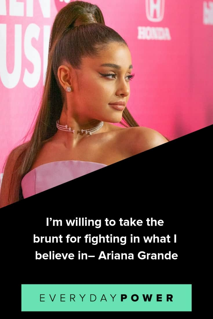 Ariana Grande quotes to inspire and motivate you