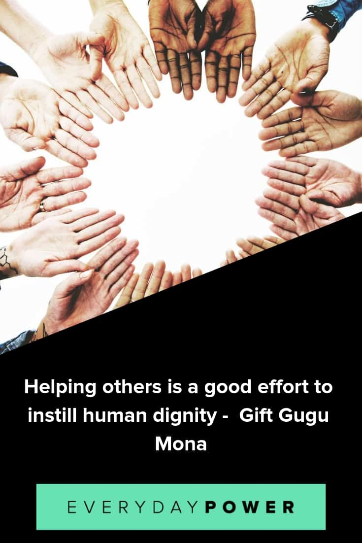 Quotes about helping others to inspire selflessness