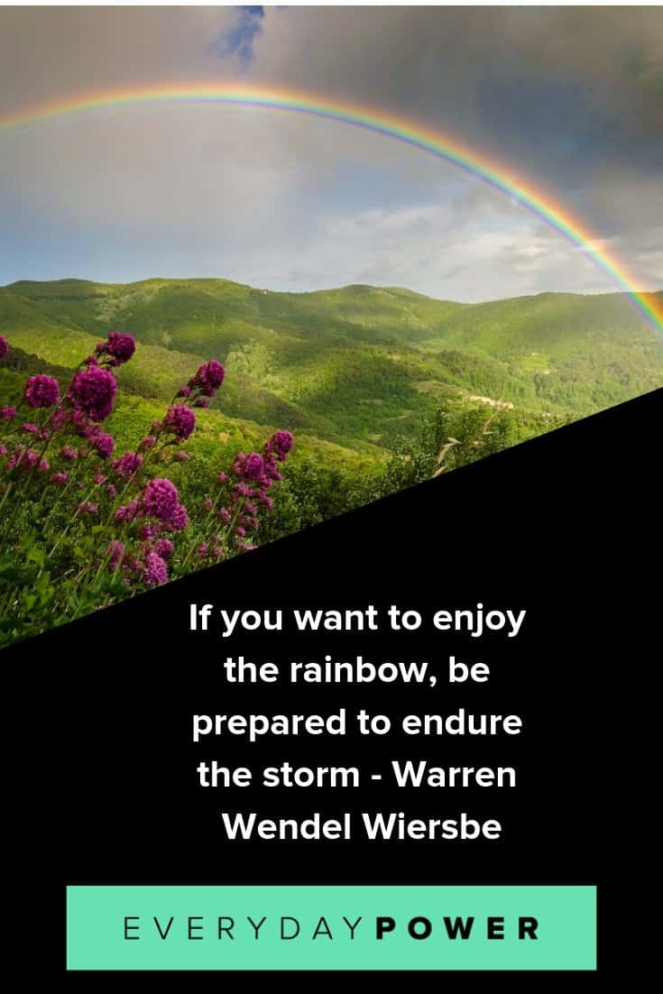 Rainbow quotes to help you weather the storm