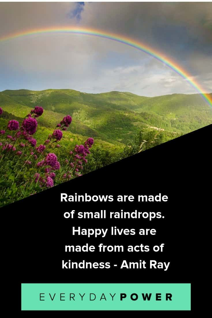 Rainbow quotes to give you hope and courage