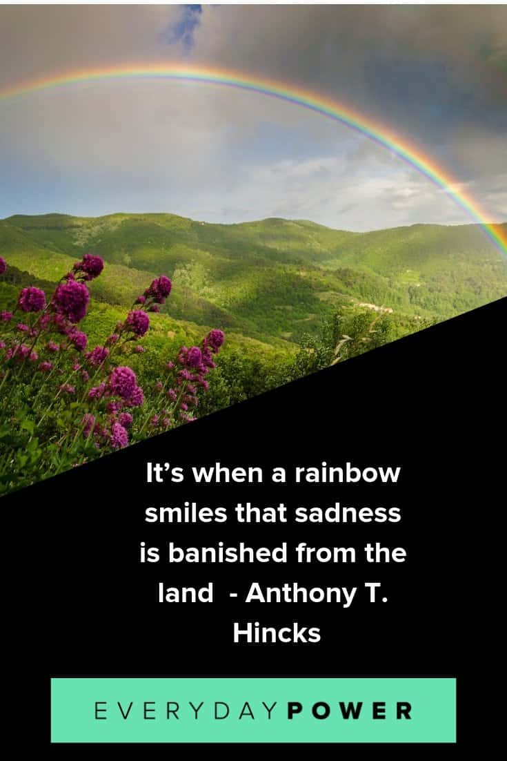 Rainbow quotes to help you grow and move forward