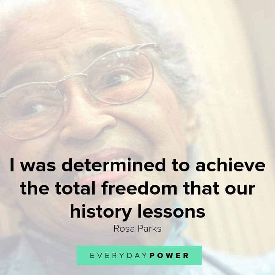 Rosa Parks quotes on fighting for what you believe in