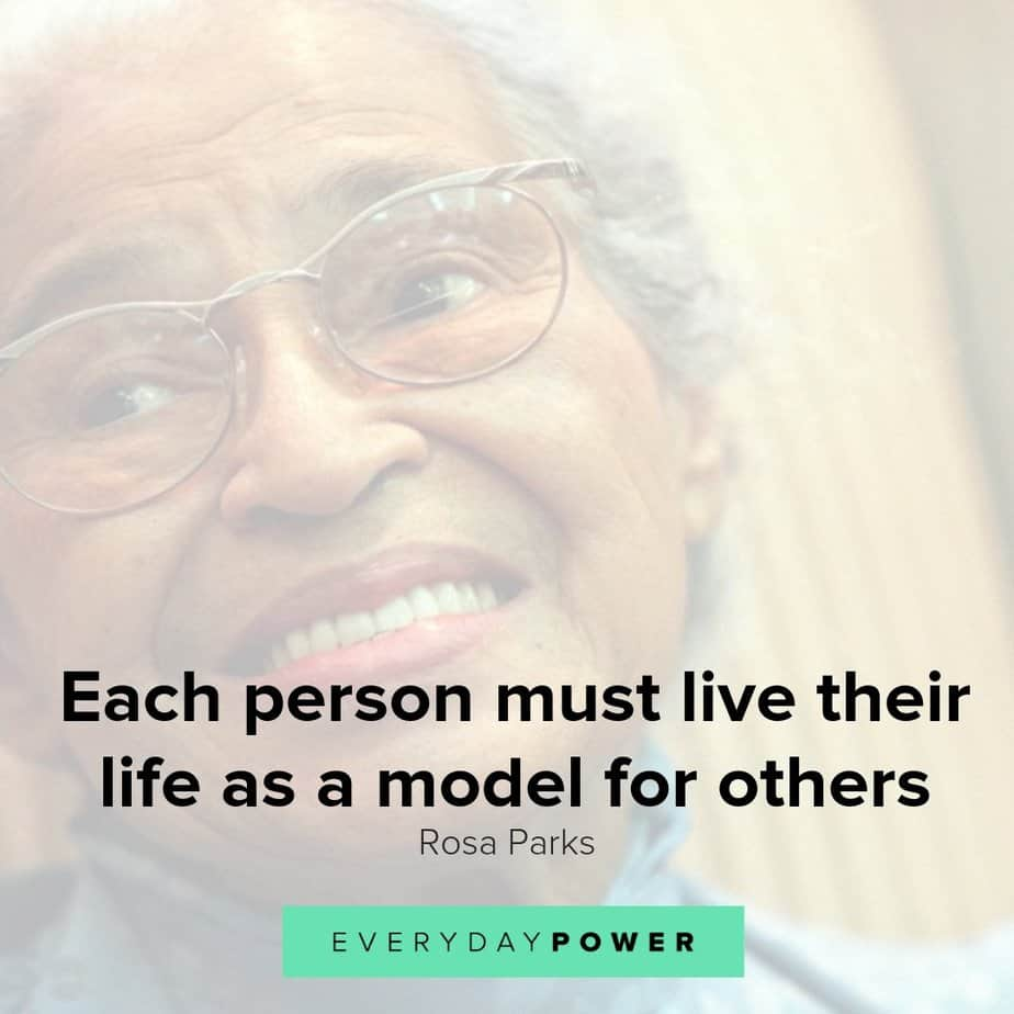 Rosa Parks quotes honoring civil rights that are still relevant