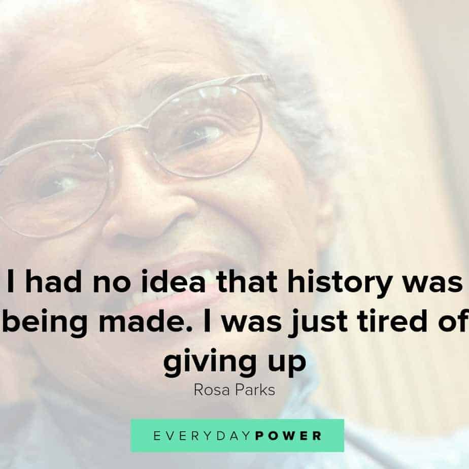 Rosa Parks quotes to inspire you