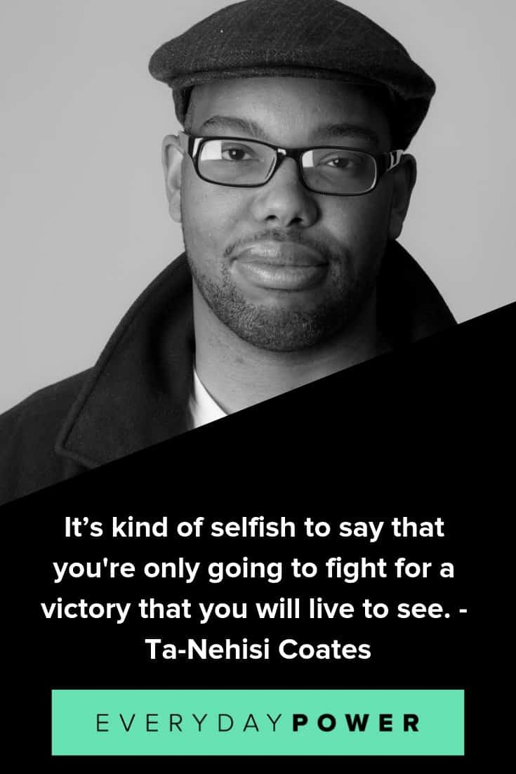 Ta-Nehisi Coates quotes providing insight on race and culture