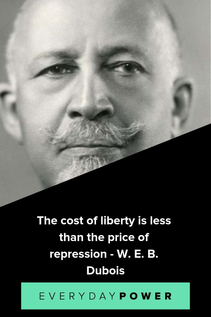 W.E.B Du Bois quotes that will stimulate your hunger for knowledge