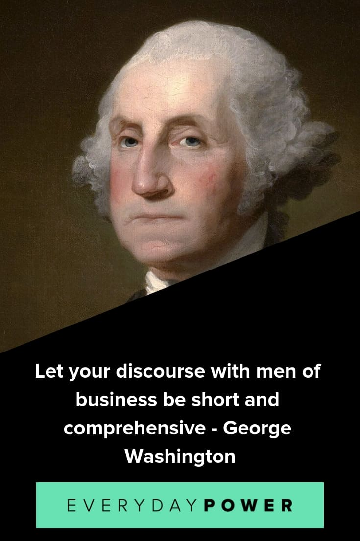 George washington quotes celebrating americas ideals