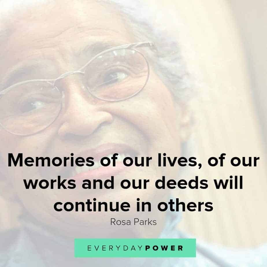 Rosa Parks quotes that will give you the courage to act on your convictions