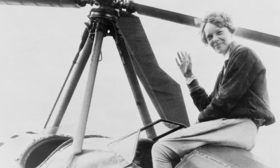 Amelia Earhart quotes about adventure, dreams, and flying