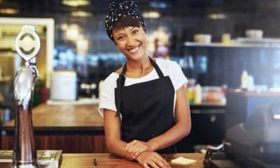 Beautiful Smile of a Cook