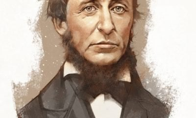 A Painting of Henry David Thoreau