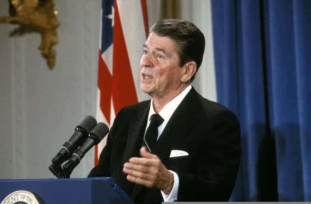 Ronald Reagan the 40th President of the United States
