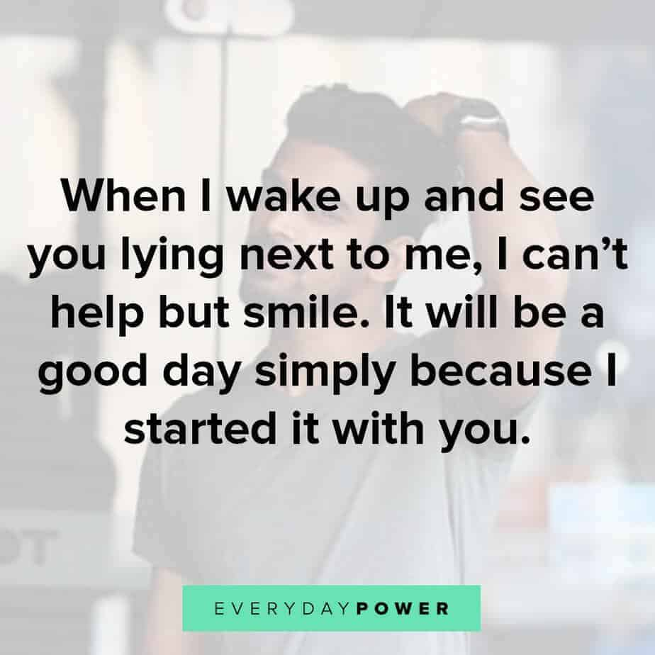 Goodmorning Quotes For Him to feel loved