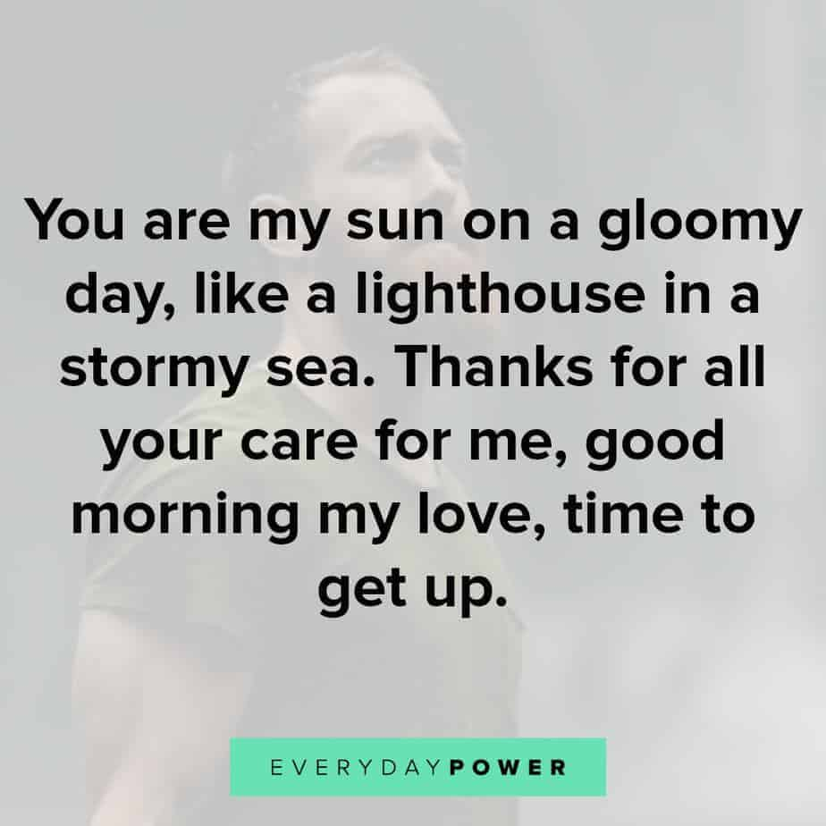 For him quotes morning 120 Good