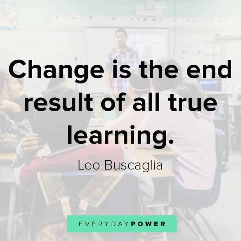 education quotes about change