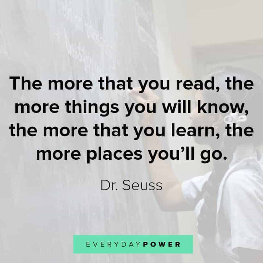 education quotes about reading
