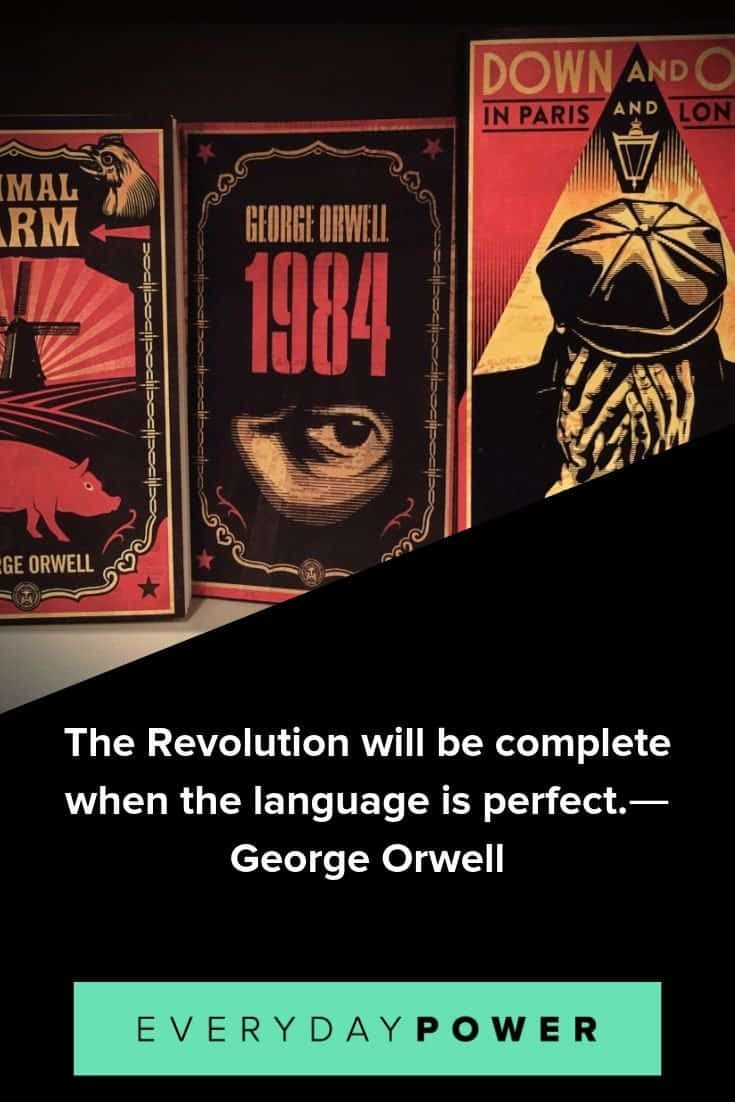 George Orwell quotes that will inspire you to stand for truth