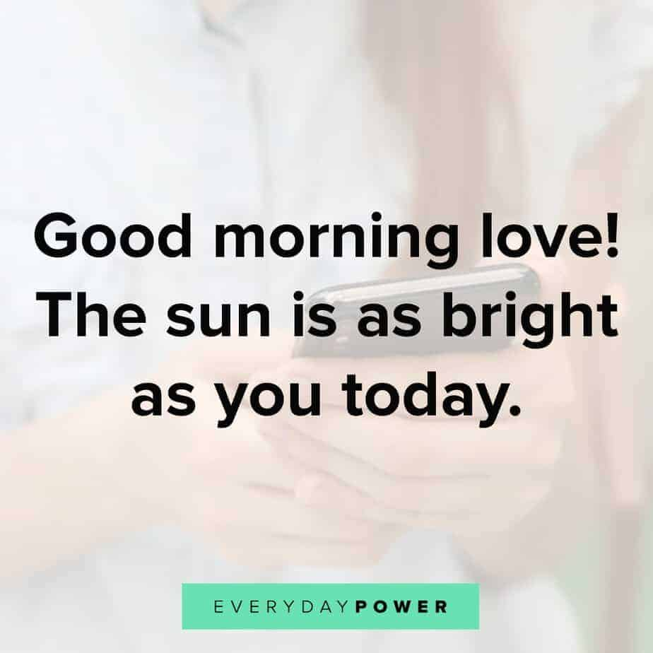 60 Good Morning Texts For Her Celebrating Love (2019)