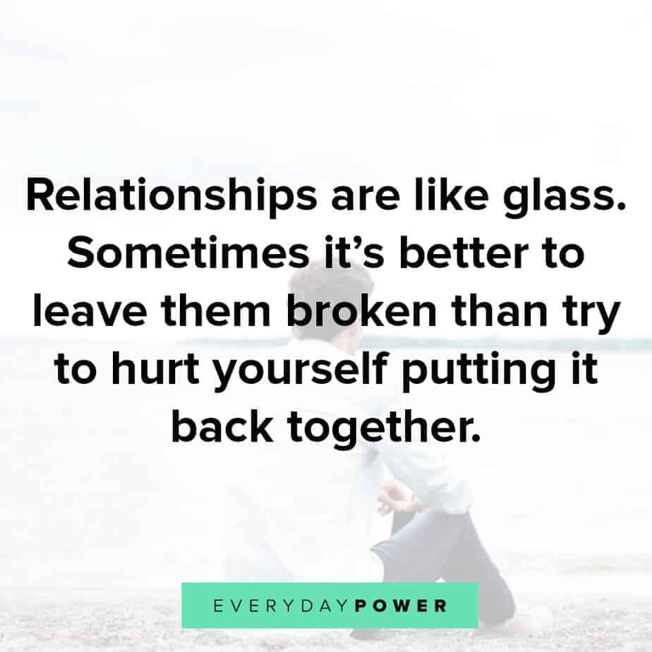 sad love quotes on broken relationships