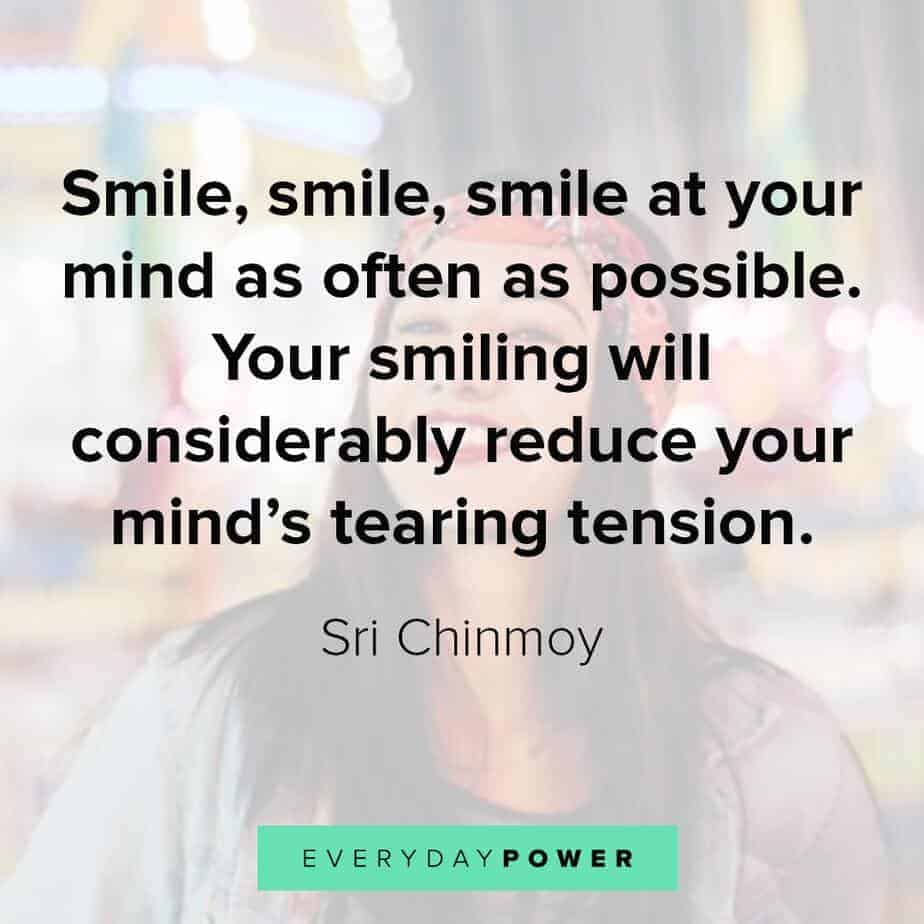 smile quotes to remove tension
