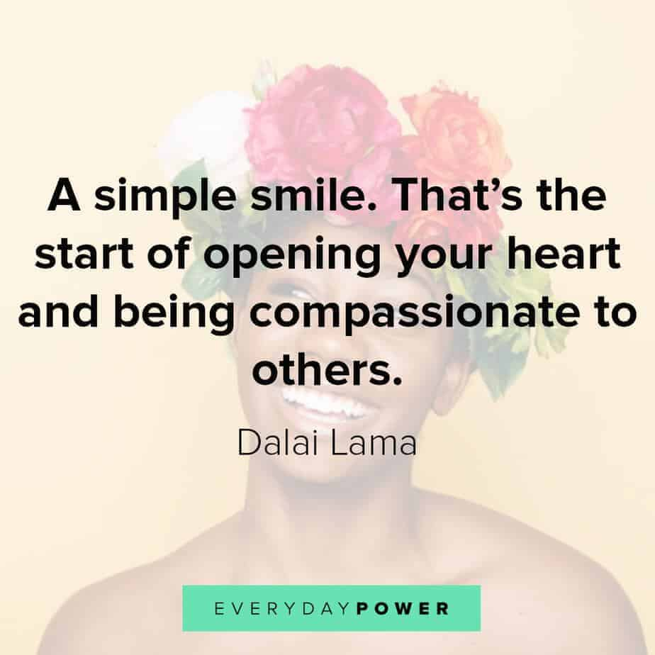 smile quotes that will open your heart