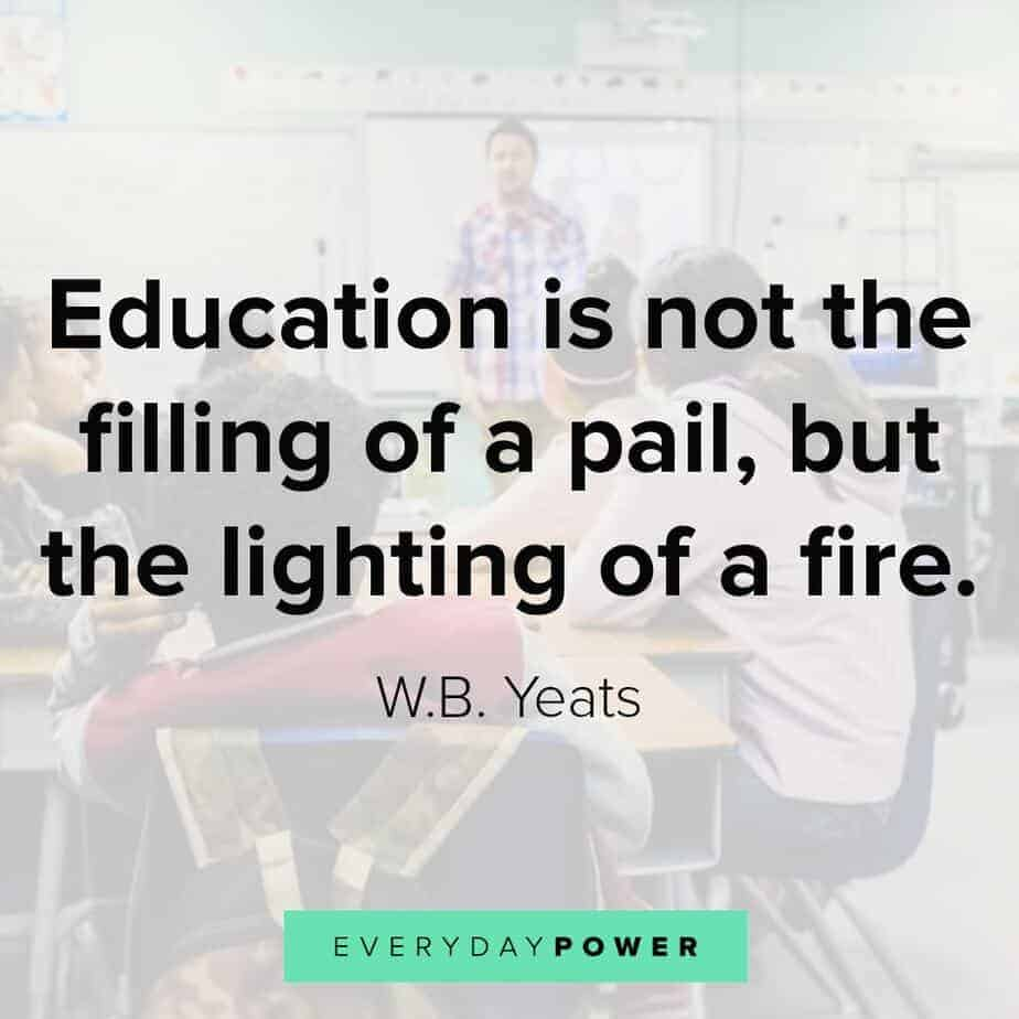 education quotes to light your inner fire