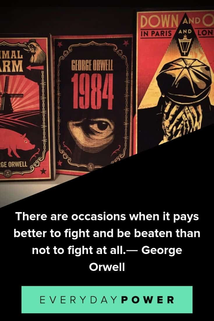 George Orwell quotes to inspire and teach