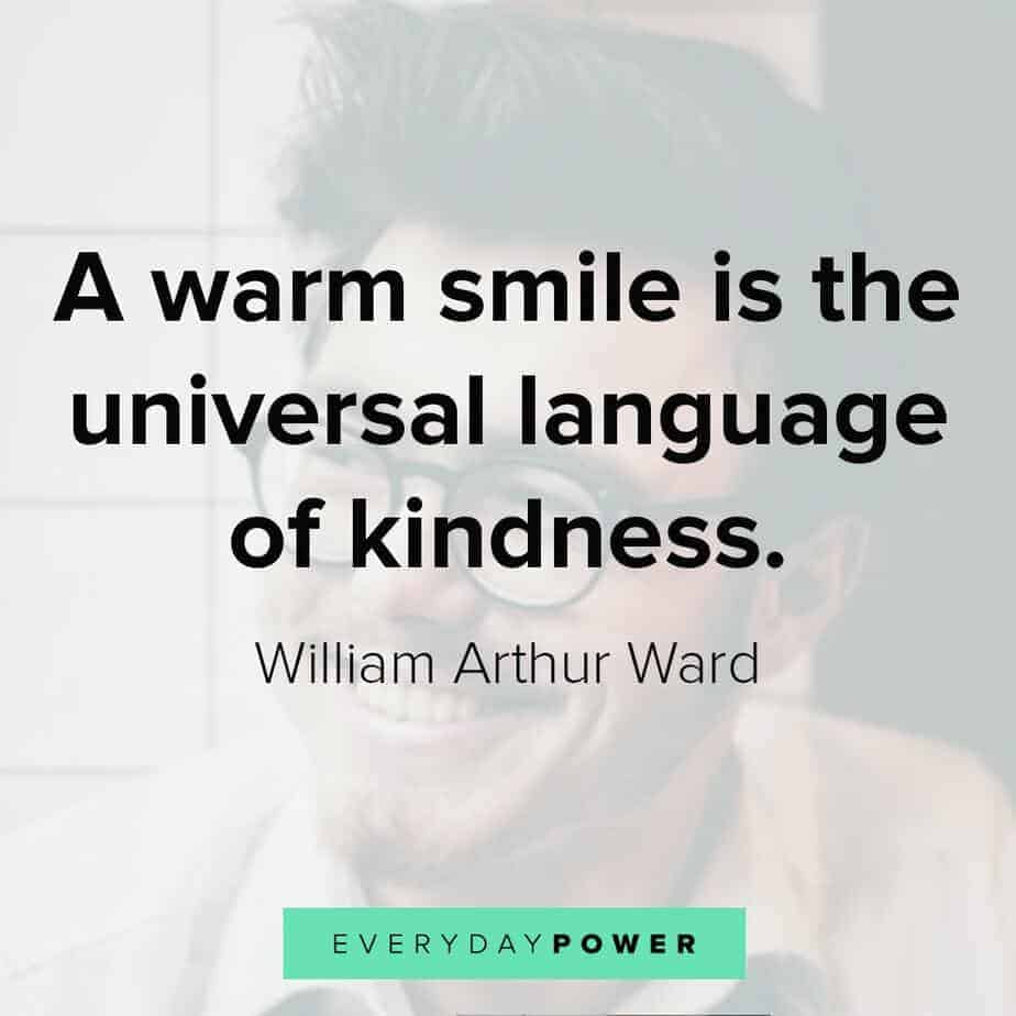 kind smile quotes
