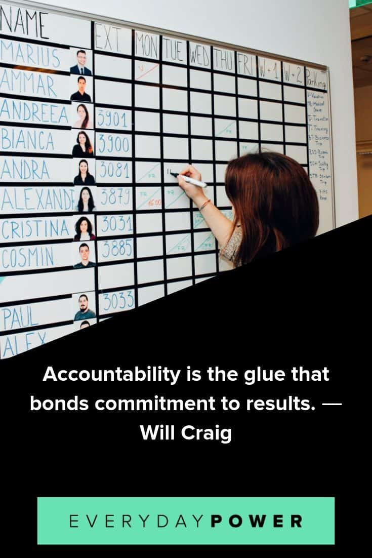 50 Accountability Quotes To Keep You In Check 2019
