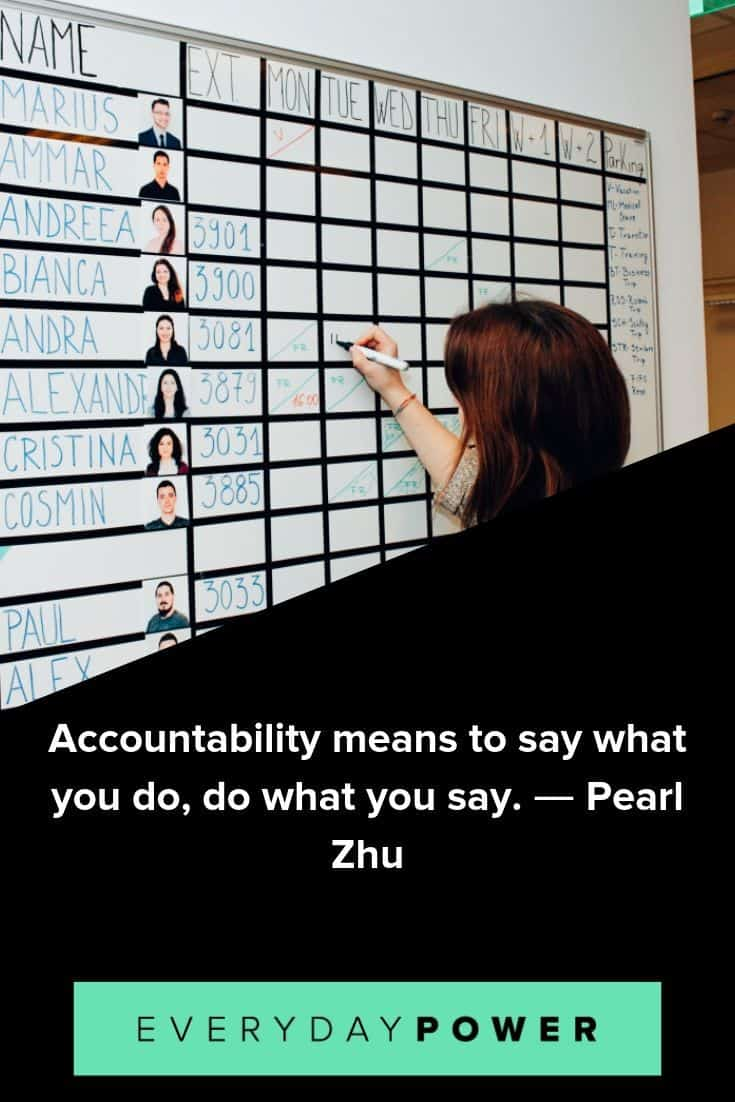 Accountability quotes to help you take control of your life