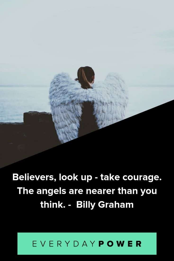 Beautiful angel quotes to inspire you